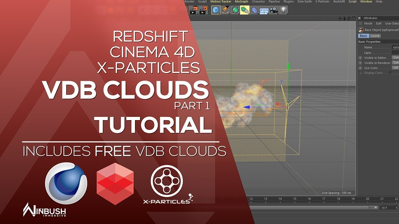 Created VDB Clouds + 16 FREE Clouds and project files on Behance