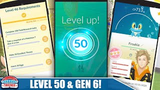 BIGGEST UPDATE in 4 YEARS! *LEVEL 50* RANK DETAILS , GENERATION 6 & RANK 24 in GBL! | Pokémon GO