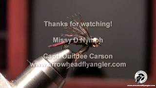 Fly Tying Nymph Missy D