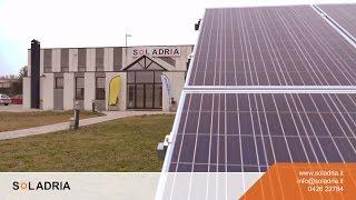 видео impianto fotovoltaico