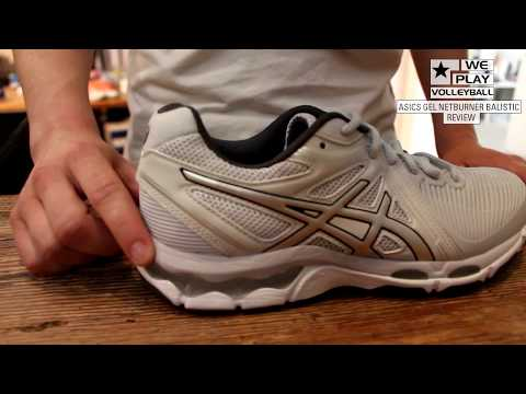 Review Asics Gel-Netburner Ballistic Volleyballschuh - YouTube