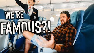 Filipinos are SO KIND! Subscriber Upgrades Our Flight