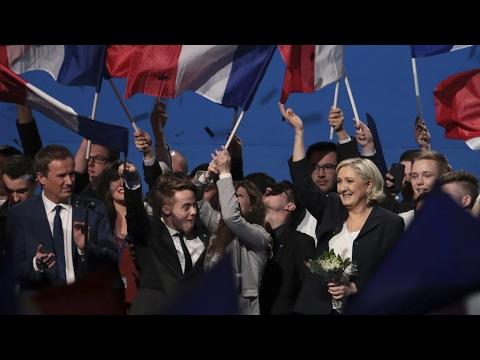 """À l'occasion du 1er-Mai, Marine Le Pen charge Emmanuel Macron et """"la finance"""""""