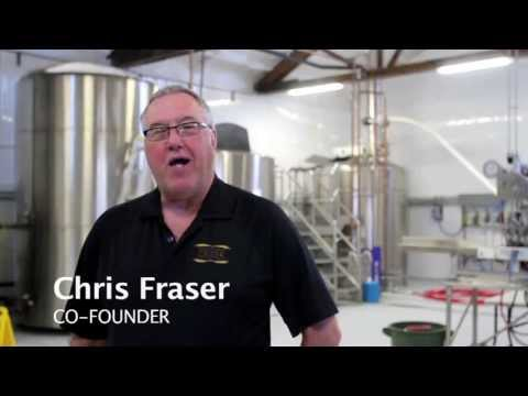 Celebrating Ribstone Creek Brewery's grand opening - April 21, 2013
