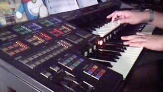 The Neverending Story Played On Yamaha Electone HS-8