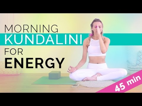 Easy Morning Kundalini Yoga & Meditation For Energy & Radiance (45-min)