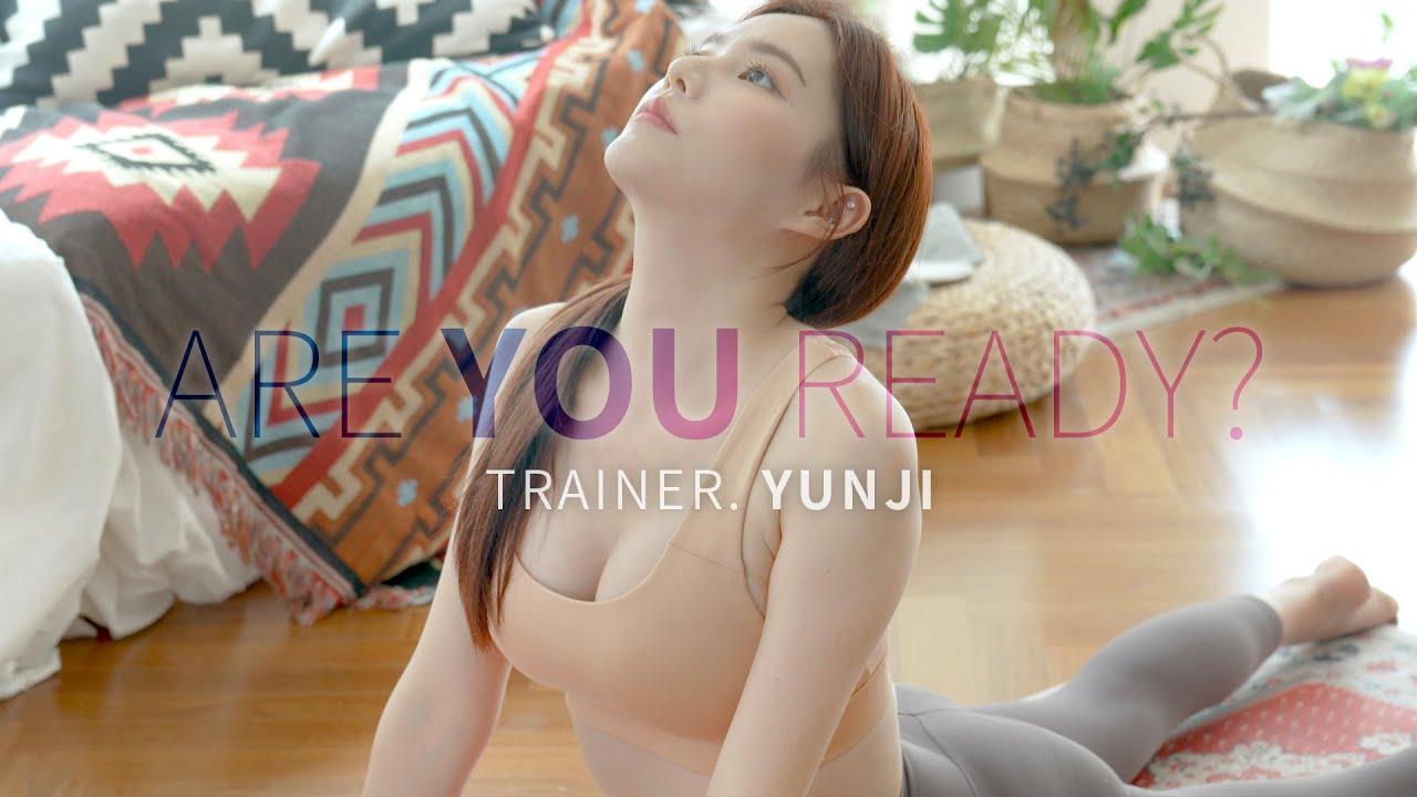 (4k) 오늘부터 1일❤️트레이너 윤지(yunji) 💪🏻같이 홈트할래요?!