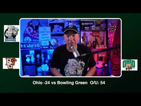 Ohio vs Bowling Green 11/28/20 Free College Football Picks and Predictions CFB Tips