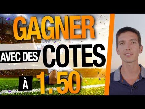 Comment GAGNER avec des COTES à 1,50 dans les PARIS SPORTIFS