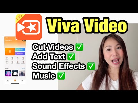 HOW TO EDIT VIDEOS USING VIVA VIDEO 2020 (English) | Basic Editing