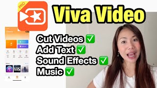 HOW TO EDIT VIDEOS USING VIVA VIDEO 2020 (English) | Basic Editing screenshot 1