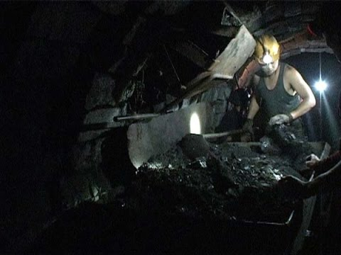 Inside A Small Coal Mine In Sichuan, China