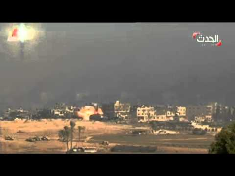 Gaza destroyed in 1 hour of heavy Bombing July 2014