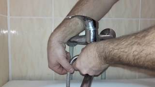 Полная замена переключателя гусак душ