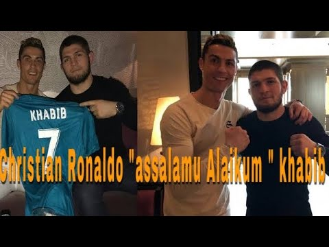 Christian Ronaldo ucap assalamu Alaikum kepada khabib nurmahedov buat nitizen heboh