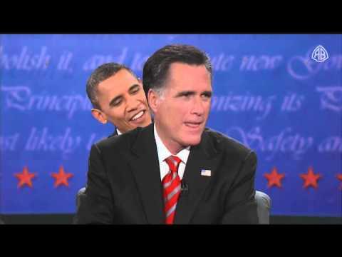 Obama und Romney