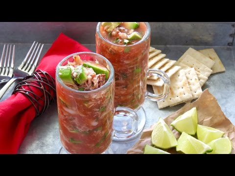 Mexican Seafood Cocktail -- The Frugal Chef