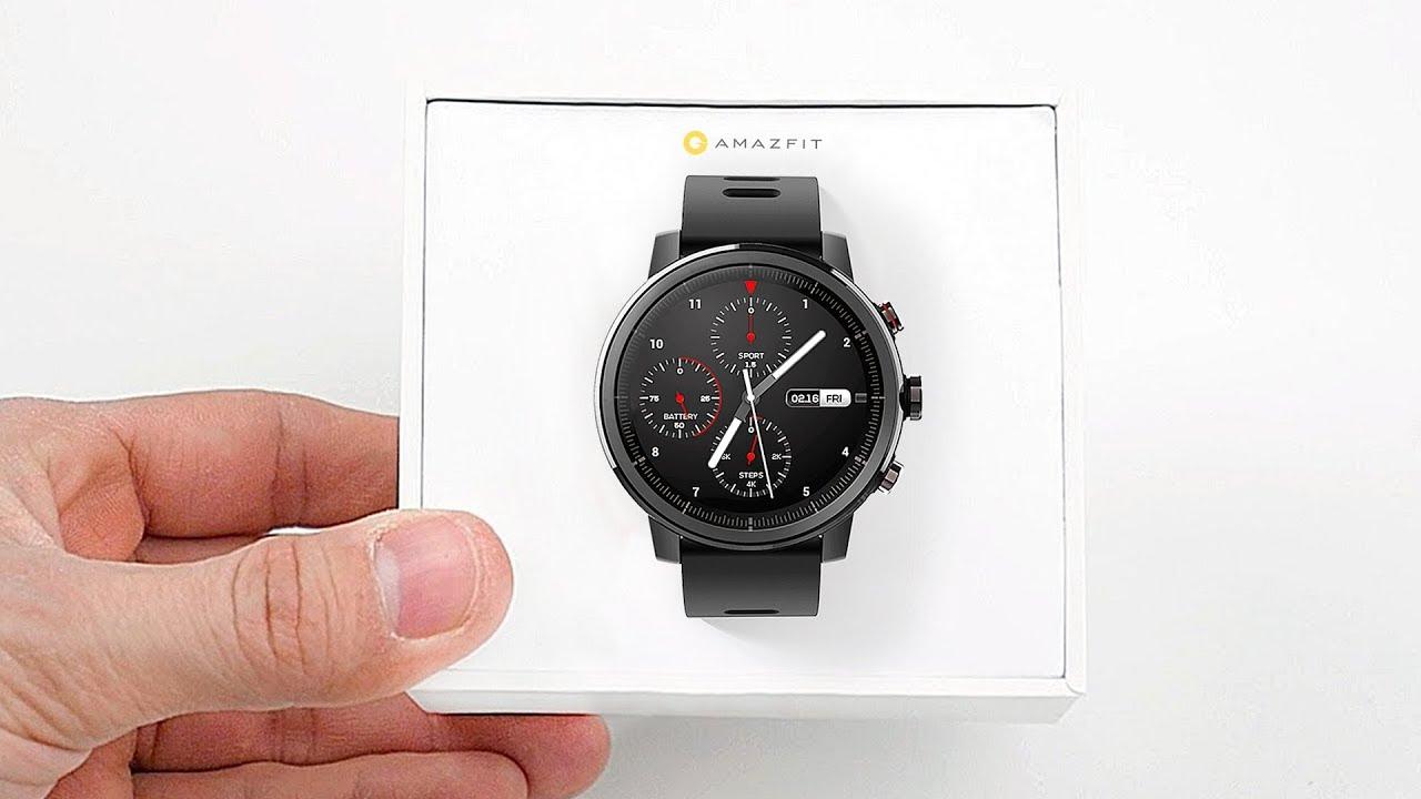 Xiaomi Amazfit Smartwatch 2 - подробный обзор смарт часов Amazfit Stratos - YouTube