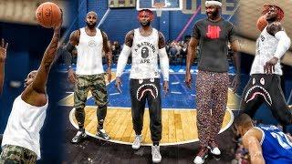 CAREER ENDING POSTER DUNKS ON OPPONENTS NBA Live 18 Live Run Gameplay