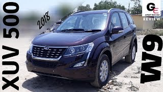 2018 Mahindra XUV 500 W9 | most detailed review | features | specs | price !!!!