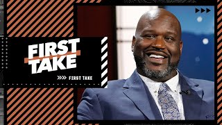 'Carmelo Anthony is right, it is championship or bust for the Lakers' - Shaq | First Take