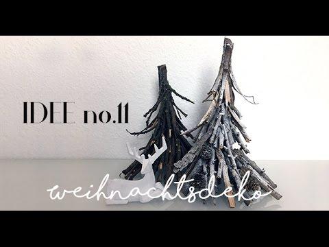DIY /Weihnachtsdeko Aus Naturmaterialien (Holz) Selber Machen_Idee No.11