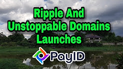Ripple launches PayID. Easily send a wire transfer or crypto to a blockchain domain.