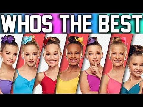 Dance Moms - Girls Singing REAL VOICE (Without...