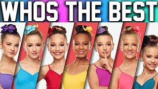 Dance Moms - Girls Singing REAL VOICE (Without AUTOTUNE) Mackenzie, Jojo, Nia etc 2017