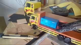 Gambar cover Melihat Proses Pembuatan Miniatur Truk Brewog