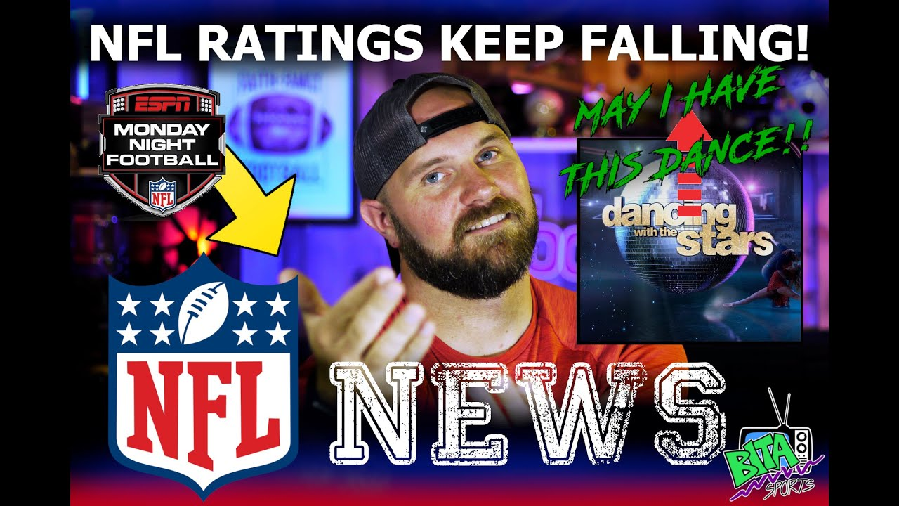 Nfl News Monday Night Football Ratings Down Over 20 Youtube