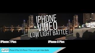 iPhone 8 Plus vs iPhone 7 Plus Low Light Camera Battle!