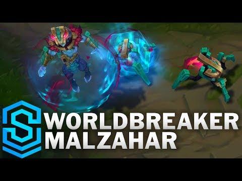 Worldbreaker Malzahar Skin Spotlight - Pre-Release - League of Legends