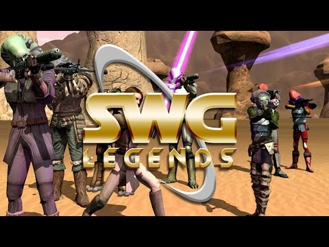 Star Wars Galaxies Legends – Character Creation  – Classic MMORPG