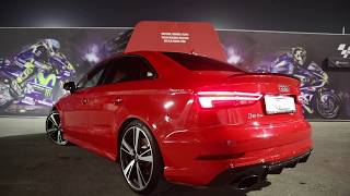 The NEW 2018 Audi RS3 Sedan (400hp) - Sounds, revs, launch control, in detail