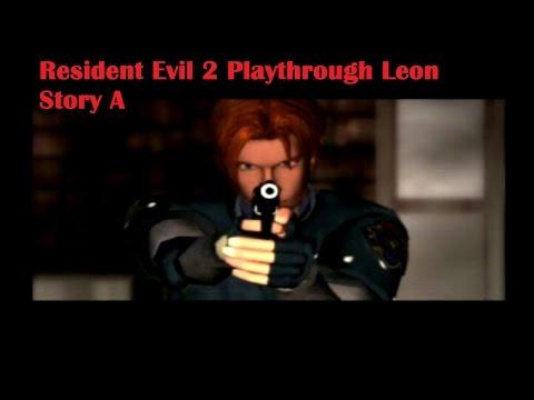 Resident Evil 2 Leon A STARS Office (part 2)