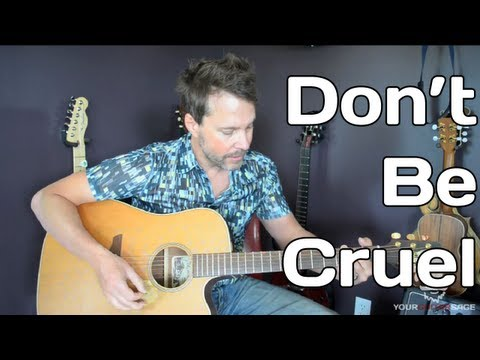 How To Play Don't Be Cruel By Elvis Presley - Guitar Lesson