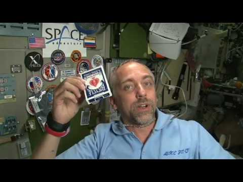 Richard Garriott Space Video Blog: Rotational Inertia