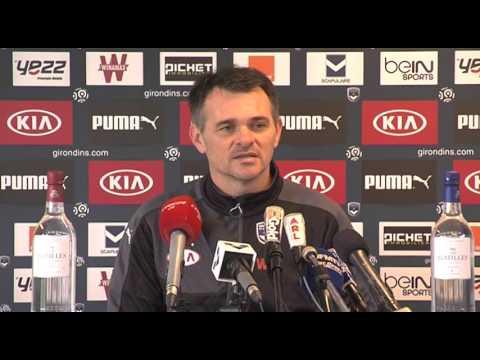 Conférence - Willy Sagnol avant Bordeaux/Saint-Etienne