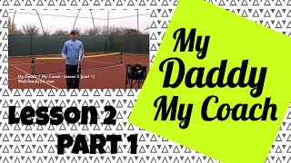 Kids Tennis Lesson (live) - part 1 - how to teach tennis to little kids (age 4 - 10)
