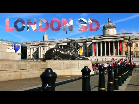 LONDON 3D - from Russia with Love!