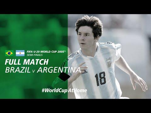 #WorldCupAtHome | Brazil V Argentina (Netherlands 2005)