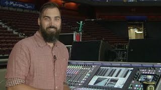 Kenny Kaiser, Front of House Engineer, The Killers