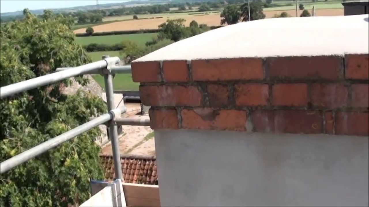 Repairing The Farmhouse Chimneys Part 5 Youtube