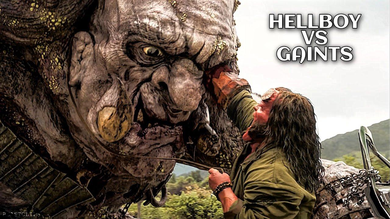 Hellboy vs Giants 🔥 Hollywood Whatsapp Status | Bao Rami Status