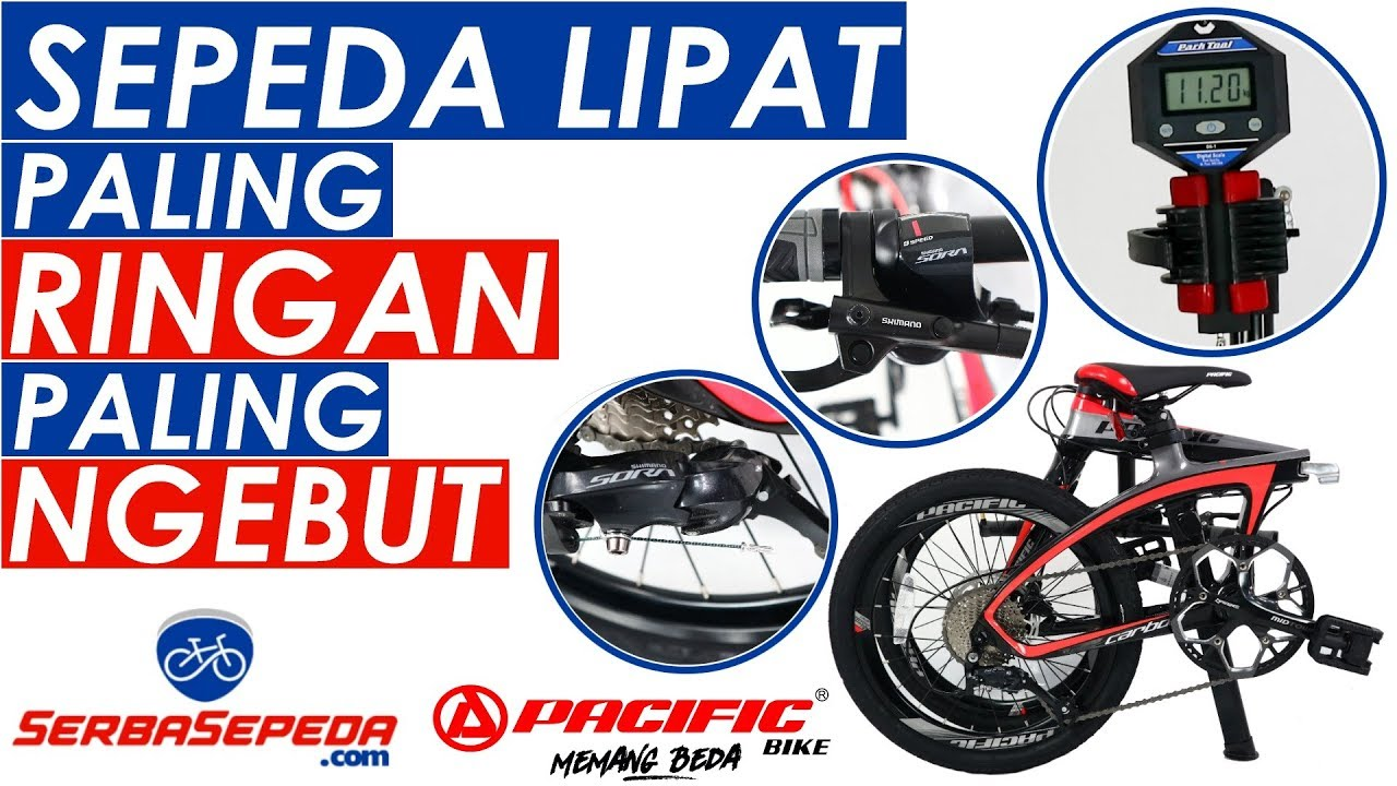 Jual Sepeda 16 Lipat Pacific 2990HT 7 Speed di lapak