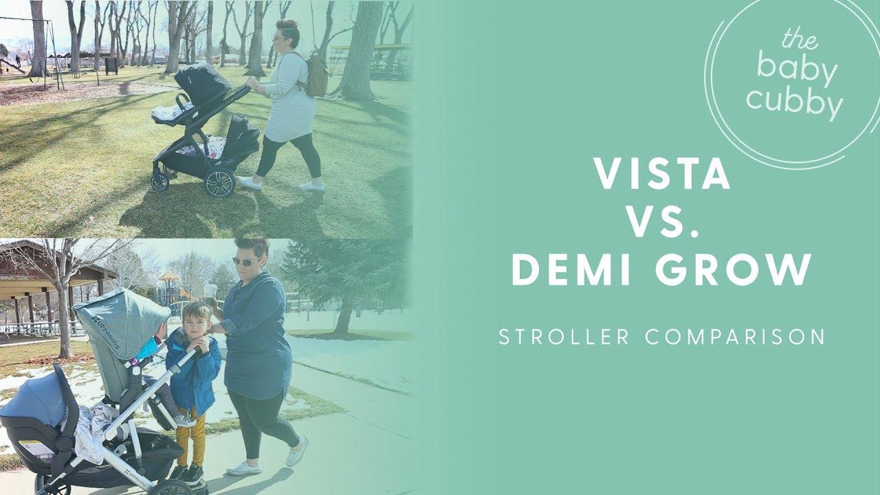 Nuna Demi Grow Vs Uppababy Vista 2018 Double Stroller Comparison