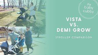 Nuna Demi Grow VS. UPPAbaby Vista | 2018 Double Stroller Comparison