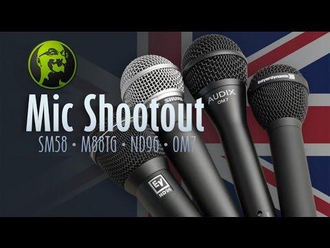 GearGossip Vocal Mic Shootout