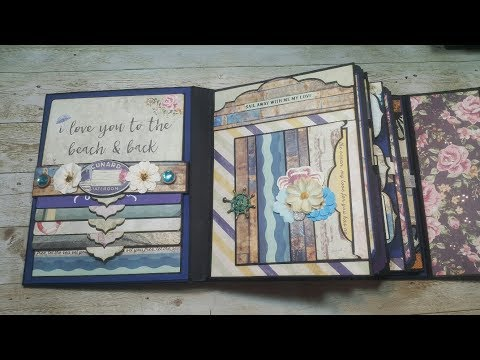 Tutorial #1 St Tropez Scrapbook Mini Album ( Design team project CCC )